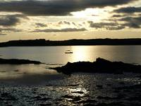 Sunset over Cuinne, Sherkin Island, West Cork, Ire