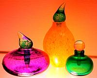 Glass Perfume Bottles - Swedish