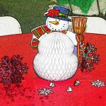 """SnowMan with Broom"" by digitalife"