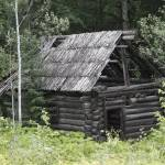 """Old Log Cabin - 13928"" by BartElder"