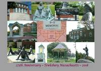 Tewksbury MA Landmark Collage