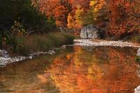 Autumn Reflections at Lost Maples