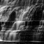 """Cascade Falls in bw"" by fniguy68"
