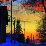 """Sunset---in Old Aylmer...."" by showmeone"