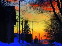 Sunset---in Old Aylmer....