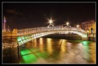 Bridge for Temple Bar.. Ha'penny Bridge
