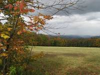 Cloudy Autumn Day in Vermont