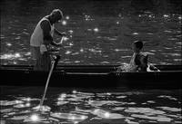 Rowing Lesson, Canal Grande, Venice