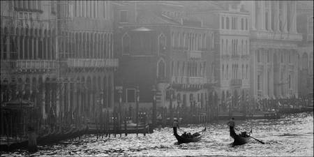 Gondolas in the Grand Canal 5, Venice