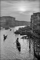 Late afternoon, Grand Canal, Venice
