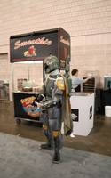 boba protects the smoothie stand