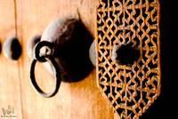 Detailed Door Of Sh.Isa Bin Ali's House