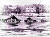 Village flooded2