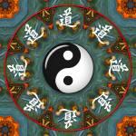 """Yin Yang Mandala_95"" by ravenswingstudio"
