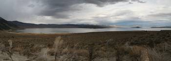 Autumn Clouds over Mono Lake