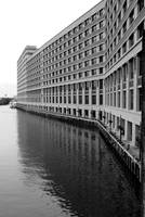 Chicago River II - Black and White