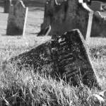 """cemetary stone laying down"" by ChillicotheBrian"