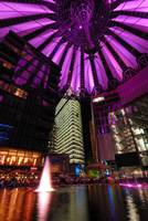 Sony Center at Potsdamer Platz in Berlin Germany
