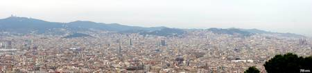 Panorama from Castell Montjuic
