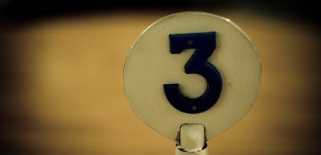 The number 3....
