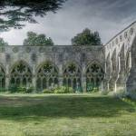 """Salisbury Cathedral Cloisters"" by t"