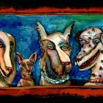 """""""4 dogs"""" by marydelave"""