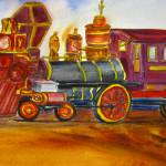 """The Little Train By Sonya P."" by flowerswithfeelings"