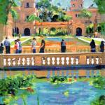 """Bridge in Balboa Park by Riccoboni"" by BeaconArtWorksCorporation"