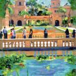 """Bridge in Balboa Park by Riccoboni"" by RDRiccoboni"