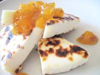 Cheese and Cloudberry Jam