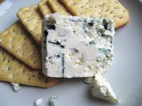 Salt & Pepper Crackers and Blue Cheese