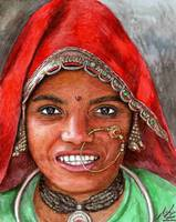Woman from North India