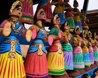 The nodding dolls of Tanjore