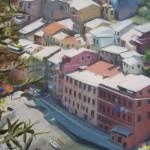 """""Cinque Terre, Italy (Detail View)"""" by acjones33"