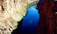 Grand Canyon - view of a tributary off of the Colo