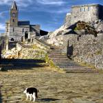 """Abbaye - Porto Venere - Cinque Terre - Italy"" by Jean-Bernard-MICHEL"