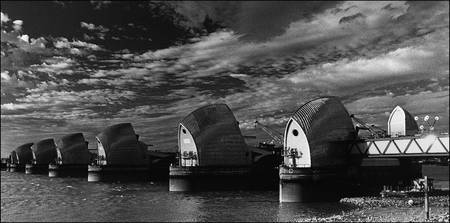 Thames Barrier, Greenwich, London
