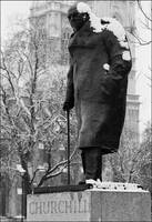 Churchill Statue, Westminster, London