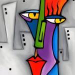 """faces 589 1114"" by Fidostudio"