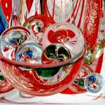 """A Sparkling Bowl of Christmas Circles"" by tricia"