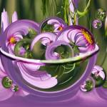 """""""Cosmos Bowl of Circles"""" by tricia"""