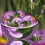 """""""Cosmos Bowl of Amazing Circles"""" by tricia"""