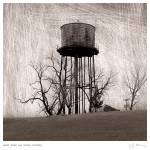 """Water Tower & Thicket, October."" by mcconnico"