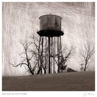 Water Tower & Thicket, October.