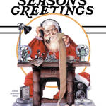 """XmasCardSantaEditing"" by cinemalad"