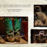 """""""OLD COWBOY BOOTS, SADDLE AND BIT FOR HORSES"""" by iHorse"""