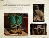 OLD COWBOY BOOTS, SADDLE AND BIT FOR HORSES