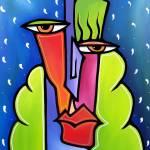 """Faces 722 2024 GW - Flurries"" by Fidostudio"