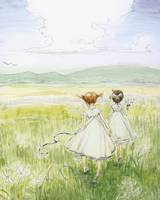 girls-in-white-painting