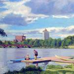 """Boating on the Charles"" by AngeloJAversa"